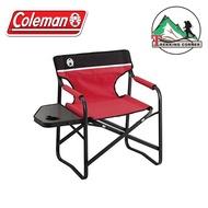 เก้าอี้ พกพา พับได้ Coleman japan Side Table deck Chair
