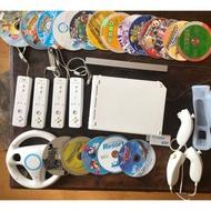 Wii 主機  + 16款遊戲  switch主機