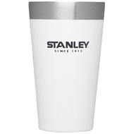 【【蘋果戶外】】Stanley 1002282 白 470ml 美國 冒險系列 真空品脫杯 咖啡杯保溫杯保冰保冷隨手杯 10-02282