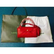 Longchamp 小羊皮包 (M)