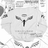 Crewneck Team Valhalla Tokyo Manji Anime Tokyo Revengers Manga Premium Unisex