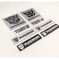 ☜Transformers Car stickers Autobots Decepticons Personality Reflective decoration Scratch occlusion