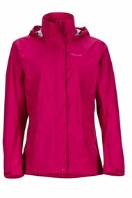 【【蘋果戶外】】marmot 46200-6119 酒紅色 美國 女 PreCip 土撥鼠 防水外套 類GORE-TEX 防風外套 風衣雨衣 風雨衣