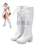 熱賣♦街頭霸王  cosplay鞋  Street Fighter 街霸 春麗 cos鞋 鞋子