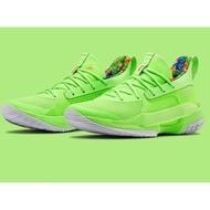 全新Under Armour Curry 7庫裡7籃球鞋磷光綠 3021258-302