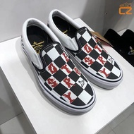 Vans Vivienne Westwood西太后土星聯名款印花休閑滑板鞋 戶外時尚休閒鞋