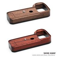 【SHINE AWAY】加厚款木製底座 適用相機 SONY A9II A7R4 A7R3 A9