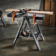 工作台 威克士多功慧工作工具台WX051 移動便攜式木工操作台鋸台折疊工具JD 智慧e家