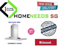 RINNAI RH-C249-SSR Chimney Hood| LED Touch Control | MULTI BRAND| FREE DELIVERY |AUTHORIZED
