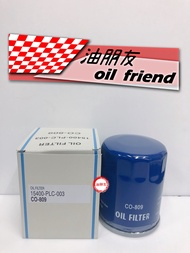 -油朋友-  C-809 本田 HONDA CIVIC K10 K12 ACCORD CRV FIT 機油濾芯 機油濾清器 機油芯