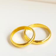 แหวนทองครึ่งสลึงแหวนเกลี้ยงตัน ทองคำแท้ 96.5%