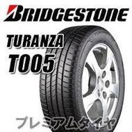 汽車輪胎 普利司通 215/60R17 T005 1條完工價 3150 一次更換2條(含)就送定位 全新輪胎