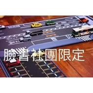 FB團友限定-獨家設計製造1:64道路停車場滑鼠墊