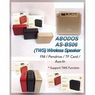 Speaker ABODOS AS-BS06 Mini Wireless Portable