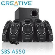 含稅附發票~全新原廠公司貨 Creative創新未來 SBS A550 5.1 聲道高音質喇叭(彰化可自取)