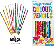 Smiggle Scented Colour Pencil Pack X12
