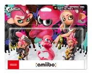 任天堂 Amiibo NFC Switch NS 漆彈大作戰2 章魚女孩 章魚男孩 粉色章魚 OCTOLING