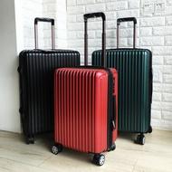 出口純PC拉桿箱超靜音萬向輪 學生商務旅行箱 擴展行李箱耐磨耐摔