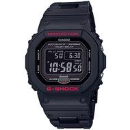 【CASIO 卡西歐】 G-SHOCK GW-B5600HR-1 經典黑紅太陽能電波藍芽錶款
