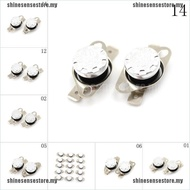 【ready】2Pcs 10A 250V KSD301 30C~160C Thermostat Temperature Thermal Contr