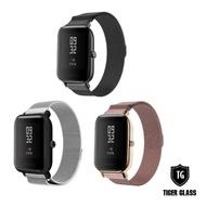 【T.G】Amazfit 米動手錶青春版 Lite 20mm 米蘭尼斯磁吸錶帶-3色(華米 米動專用錶帶 磁吸錶帶)