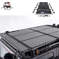 G Class Roof Racks และบันไดสำหรับ G CLASS w464 G63 G500 G65 กระเป๋าเดินทางสำหรับ SUV Professional Cargo carrier และบันได