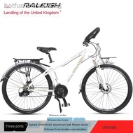 RALEIGH 30-speed station wagon long-distance riding road bike variable speed ultra-light male and female student racing