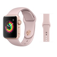 福利品 Apple Watch series 3 38mm pink sand粉色運動型錶帶(GPS)  皇家數位通訊