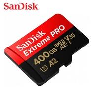 SANDISK 400G Extreme PRO A2 V30 microSDXC U3 UHS-I 速度高達170MB