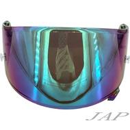 SHOEI X14 Z7 魔幻綠 電鍍片 副廠專用鏡片 全罩安全帽 X-14 Z-7