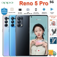 "【Instock】Oppo Reno 5 Pro 5G Cell Phone / 6.55"" 90HZ OLED Curved Screen / 8GB RAM 128GB ROM / 64.0MP / 65W Super Charger / Dimensity 1000+ / Android 11 ColorOS11.1 Smartphone"