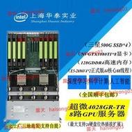 128G內存. 8路GTX1080TI顯卡科學計算人工智能電腦深度學習服務器