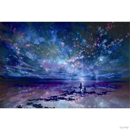 ♧✺☈Jigsaw puzzle 5000 pieces super large and difficult flat picture starry sky 1000 pieces anime over 14 years old to relieve boredom handmade diy11
