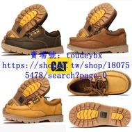 CAT-男鞋 工裝鞋 大黃靴 卡特休閑鞋 低幫戶外鞋 經典短靴
