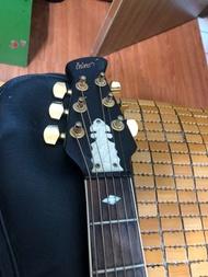 圓背電木吉他