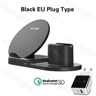 Wireless Charger Stand for iPhone AirPods Apple Watch Wirless Charging Dock Station for Apple Watch Series 5/4/3/2 iPhone 12 11