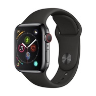 Apple-Apple Watch Series 4 GPS+Cellular (40mm Space Black Stainless Steel Case Black Sport Band) สมาร์ทวอทช์ Smart Watches & Fitness Trackers  Smart Electronics  Consumer Electronics