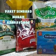 paket sembako murah (minyak,kopi,gula&teh)