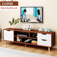 "55"" TV Stand Storage Cabinet Console Entertainment Center Storage Shelf Drawer"