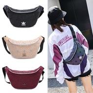 adidas/issey miyake couple waist bag 3d rhombus chest bag