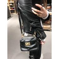 ❒✓✙新款Salad潮牌女士包袋 03178 牛皮多層方包斜挎包手提包側背包