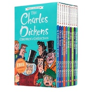 10 Books/Set The Charles Dickens English Reading Books Children Collection Gifts
