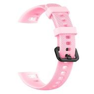 錶帶 適用榮耀手環4腕帶華為手環3錶帶5腕帶通用矽膠替換帶卡扣運動標準版通用pro智能手錶帶膠圈honorband四『SS2970』
