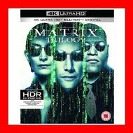 【4K UHD】駭客任務三部曲 4K UHD+BD 九碟套裝版(中文字幕)The Matrix捍衛任務 基努李維