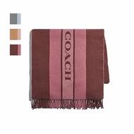 限時3折up| COACH 女士大LOGO羊毛圍巾羊毛 F76388 |滿額最高折600↘情人節寵愛禮