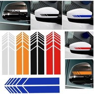 HONG → Rearview Mirror Strip Stickers Car Reflective PET Decal for Mercedes Benz