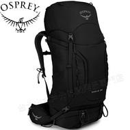 Osprey Kestrel 58 小鷹輕量登山背包/健行背包 附贈背包套 58升 男款 黑色 新版 /台北山水