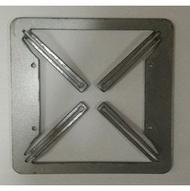 (含發票)兩聯用 接線盒鏽蝕補救 開關盒 鐵盒 BOX 斷耳 銹蝕 生銹 斷掉 不能鎖螺絲 不能固定 開關蓋板 3片一組