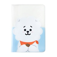 LINE FRIENDS BT21 Official Merchandise by Line Friends - SHOOKY Character Passport Holder Cover