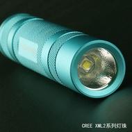 (強光)Convoy S2+青色 XML2 U2 T6白光黃光暖白光小直強光手電筒泛光
